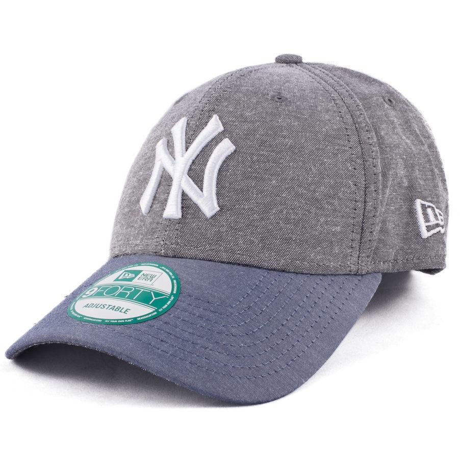 Серая кепка New York Yankees