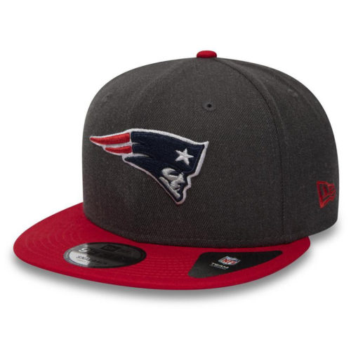 11871353 Бейсболка New Era NFL Heather New England Patriots