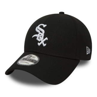 New era 9 Forty adjustables Chicago White Sox Black White